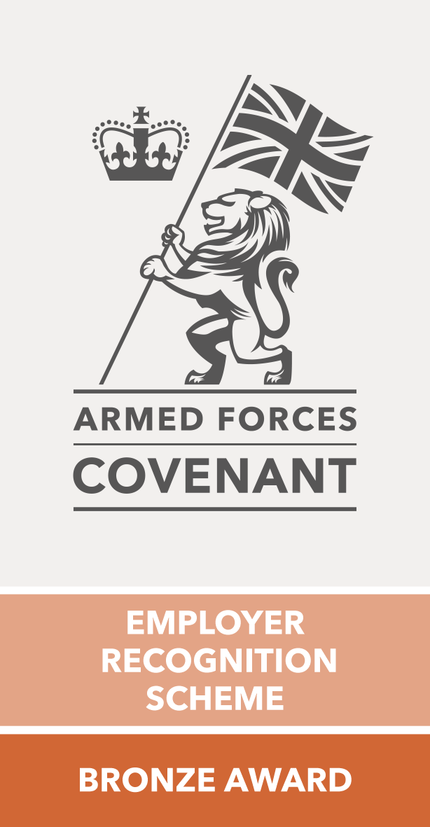 Armed Forces Covenant - Employer Recognition Scheme - Bronze Award